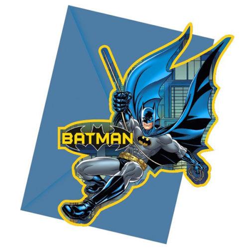 Приглашения Бэтмен Дарк Неро 6 штук