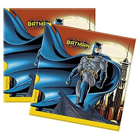 Салфетки 33 х 33 см Бэтмен Дарк Неро 20 штук
