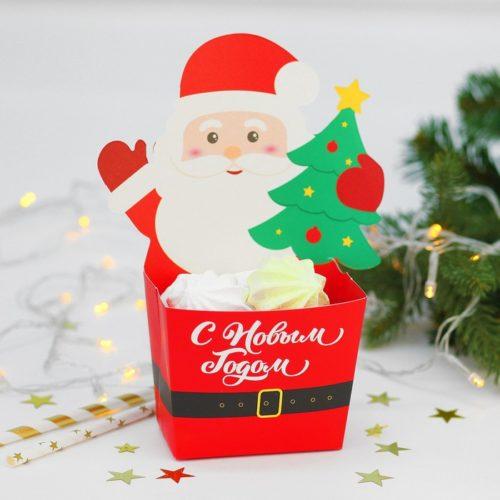 Снек-бокс С Новым годом Дед мороз