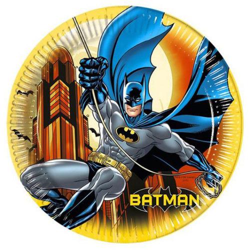 Тарелки 23 см Бэтмен Дарк Неро 8 штук