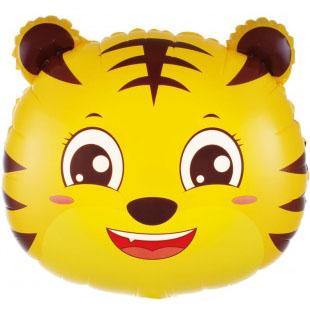 Шар 51 см Фигура Голова Маленький Тигр