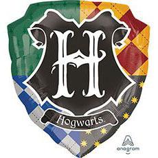 Шар 68 см Фигура Гарри Поттер герб Хогвартса