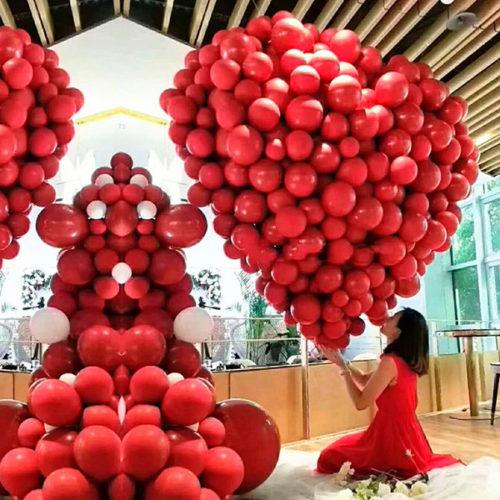 Сердце из шаров Большая Любовь