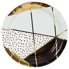 Тарелка 17 см Мятная Роскошь 6 штук