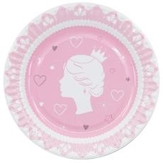 Тарелка 17 см Принцесса 6 штук