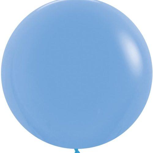 Шар 61 см Голубой Пастель