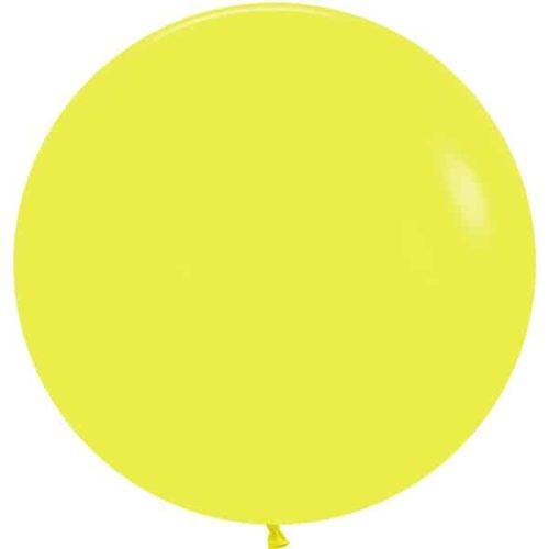 Шар 61 см Желтый Пастель