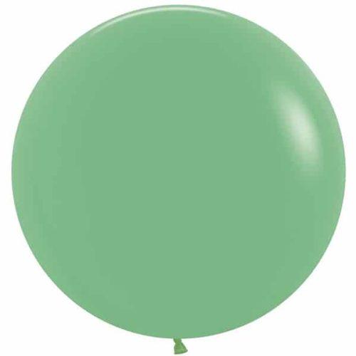 Шар 61 см Зеленый Пастель