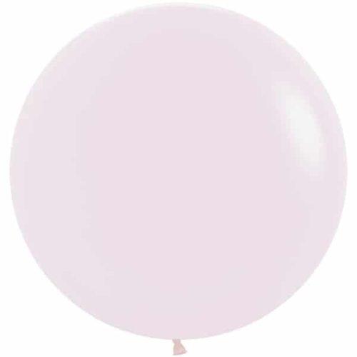 Шар 61 см Макарунс Нежно-розовый Пастель