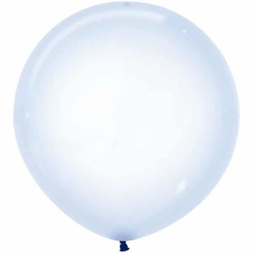 Шар 61 см Макарунс Хрустально-голубой Кристалл
