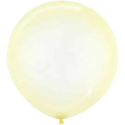 Шар 61 см Макарунс Хрустально-желтый Кристалл