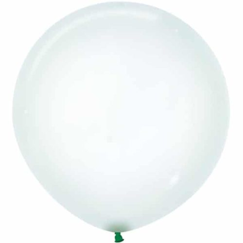 Шар 61 см Макарунс Хрустально-зеленый Кристалл