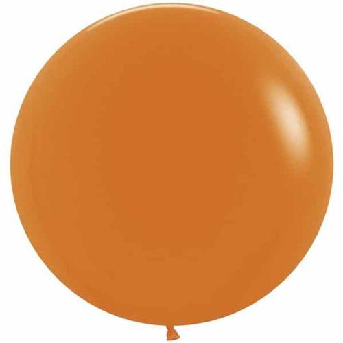 Шар 61 см Оранжевый Пастель