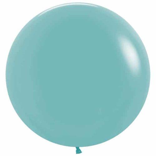 Шар 61 см Синяя бирюза Пастель