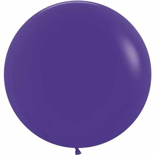 Шар 61 см Фиолетовый Пастель