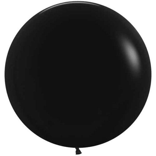 Шар 61 см Черный Пастель