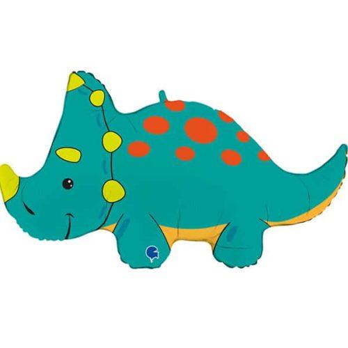 Шар 91 см Фигура Динозавр Тираннозавр Трицератопс