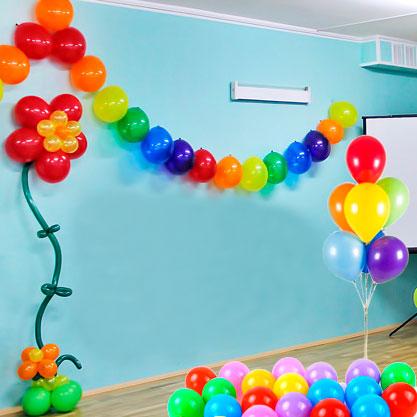 Комплект для оформления Детского сада Радуга и Цветок
