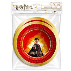 Набор тарелок 18 см Гарри Поттер 6 штук