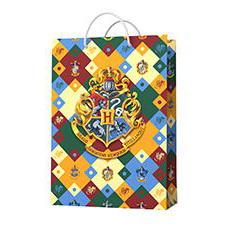 Пакет бумажный Гарри Поттер герб 23 х 18 см