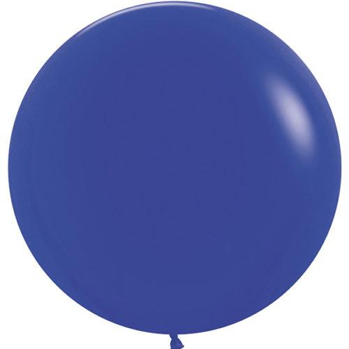 Шар 61 см Синий Пастель