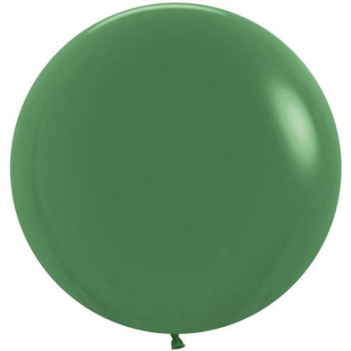 Шар 61 см Темно-зеленый Пастель