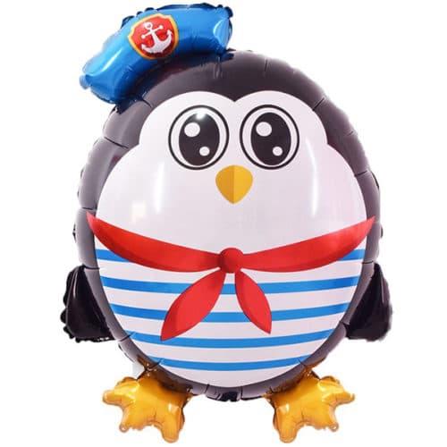 Шар 79 см Фигура Пингвин Морячок