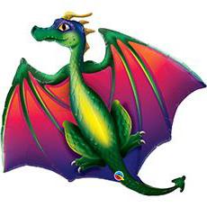 Шар 114 см Фигура Дракон летящий