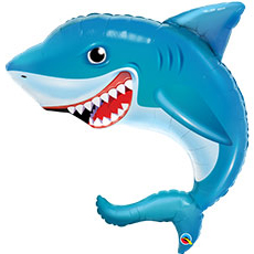Шар 91 см Фигура Акула