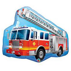 Шар 91 см Фигура Машина пожарная