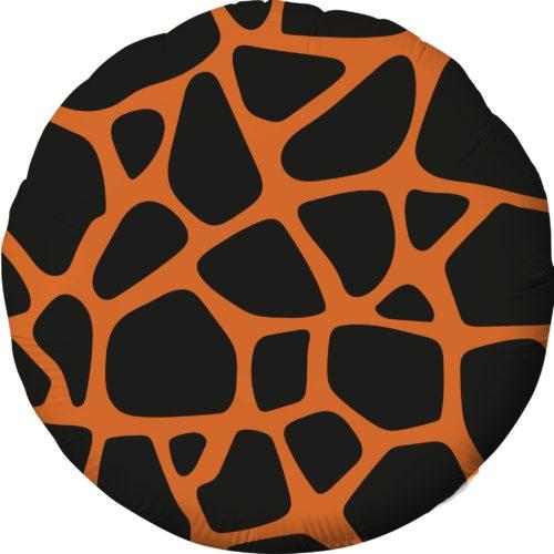 Шар 46 см Круг Анималистика Пятнистый Жираф