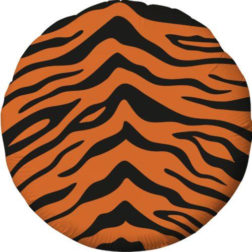 Шар 46 см Круг Анималистика Пятнистый окрас Тигр