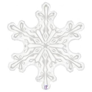 Шар 91 см Фигура Снежинка Прозрачный