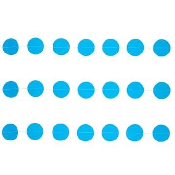 Гирлянда на нитке Круги Голубые 2,2 м