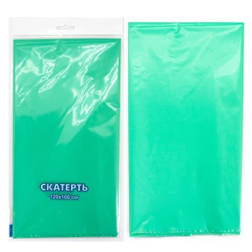 Скатерть п-э Зеленый 120 х 160 см