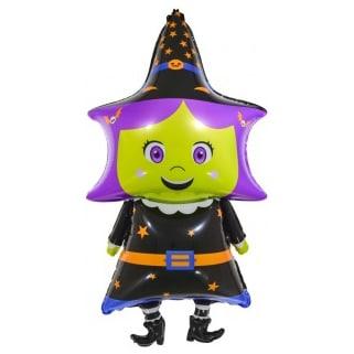 Шар 33 см Мини-фигура Маленькая ведьмочка