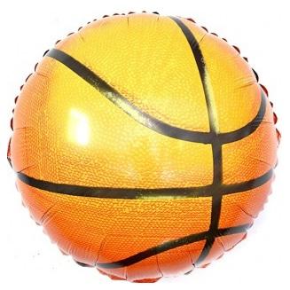 Шар 46 см Круг Баскетбольный мяч