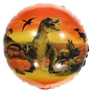 Шар 46 см Круг Эра Динозавров