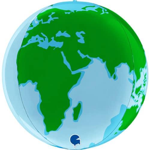 Шар 46 см Сфера 3D ланета Земля,