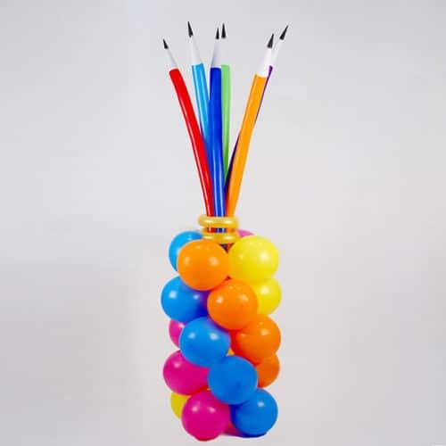 Фигура из воздушных шаров Стойка с Карандашами