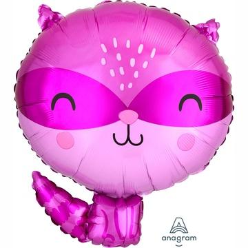 Шар 45 см Фигура Енот фиолетовый