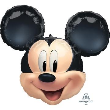 Шар 63 см Фигура Микки Маус голова