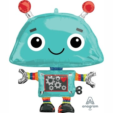 Шар 88 см Фигура Робот