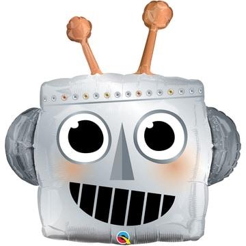 Шар 89 см Фигура Робот голова