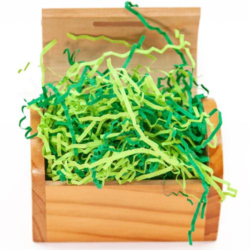Наполнитель бумажный Микс Зеленый 50 гр