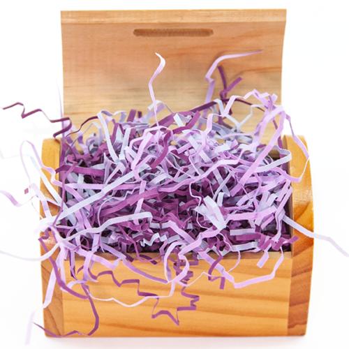 Наполнитель бумажный Микс Фиолетовый 50 гр