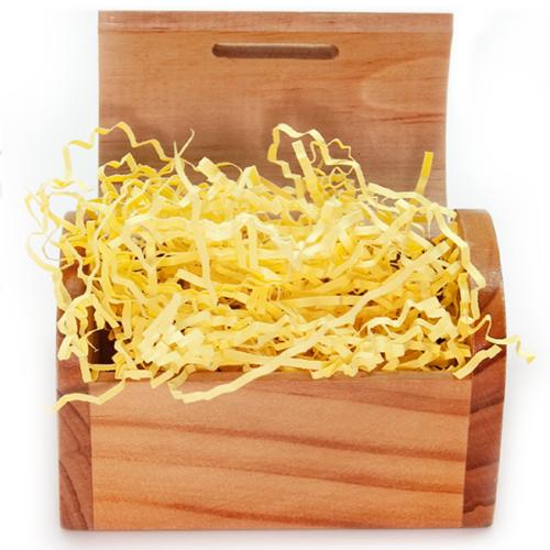 Наполнитель бумажный Светло-желтый 50 гр