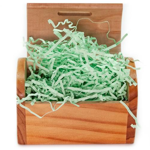 Наполнитель бумажный Светло-зеленый 50 гр
