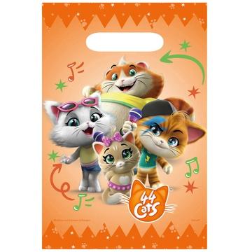 Пакет бумажный 44 Котёнка 8 штук