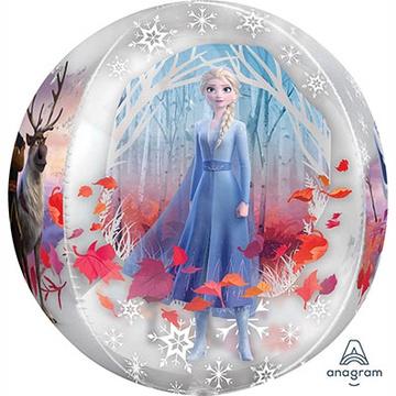 Шар 40 см 3D Сфера Холодное сердце II